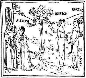 Ilustración erótica del siglo XIV de El Decamerón. Foto: Wikipedia Commons.
