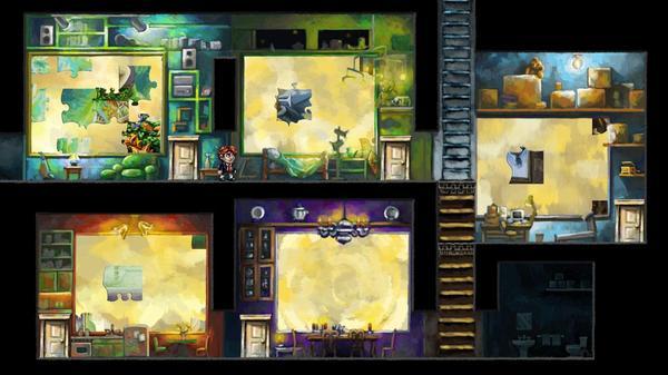 Plataformas del videojuego 'Braid'
