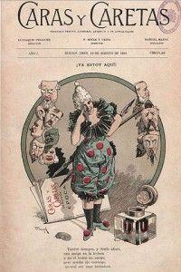 Portada del primer número de la revista satírica argentina Caras y Caretas