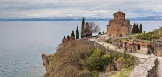 Iglesia de san Juan Caneo en Ohrid, por Diego Delso bajo licencia [CC BY-SA 3.0]