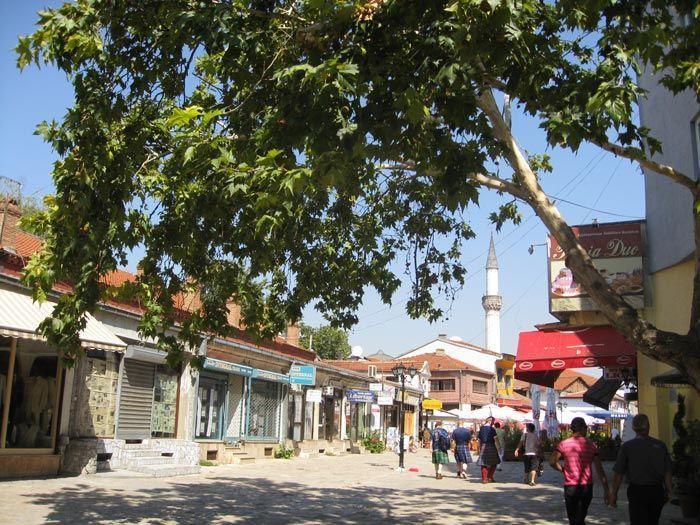 Bazar de Skopje, por Nikkyb [Public domain]