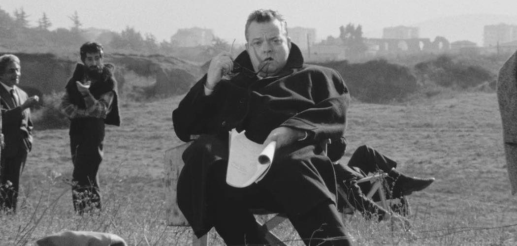 Fotograma Orson Welles en La ricotta, de Pier Paolo Pasolini (1962)