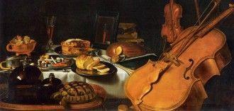 Bodegón con instrumentos musicales, de Pieter Claesz (1623). Wikimedia Commons