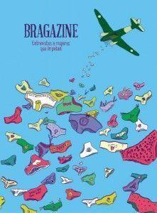 Portada de Bragazine por la ilustradora Miram Persand