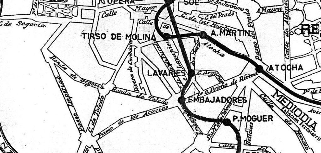 """Detalle de """"Érase Una Vez... El Metro de Madrid (1960)"""" de Antramir. Vía Flickr / CC"""