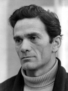 Pier Paolo Pasolini con 49 años.