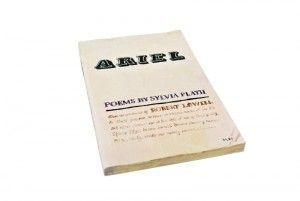 Plath, Sylvia. Ariel, 1966. Fotografìa de Conrad Bakker/Flickr(C.C)