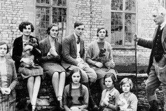 Mitford family 1934