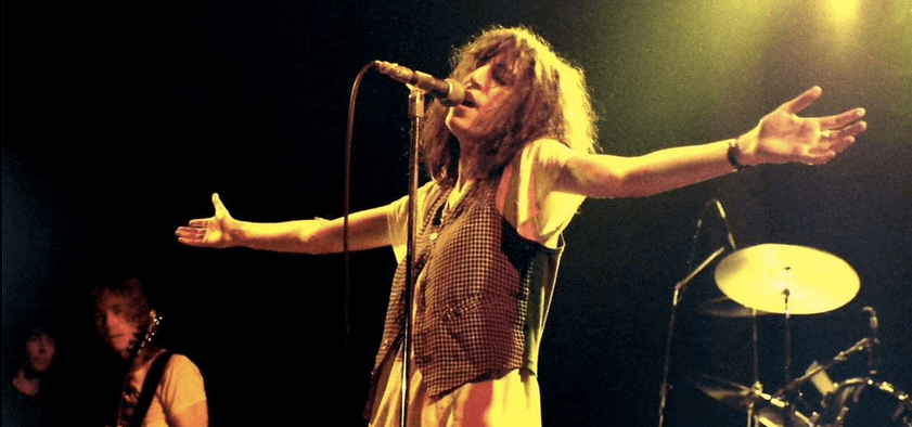 Patti Smith en Rosengrten (1978). Fotografía a través de Flickr/Klaus Hiltscher