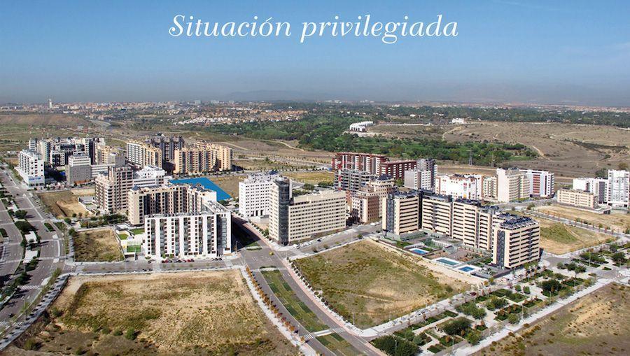 Promoción inmobiliaria exclusiva y privilegiada en Valdebebas.