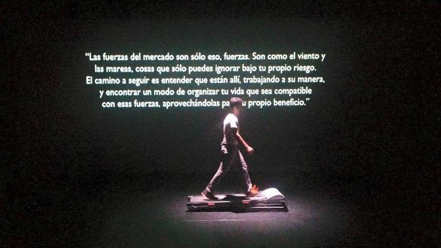 Acción sonora 0.997, de Alberto Bernal y Álex Serrano. Foto: MusicadhoyOperadhoy.