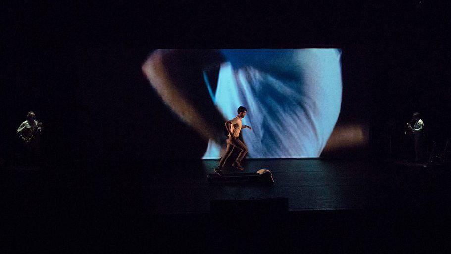 Acción sonora 0.997, de Alberto Bernal y Álex Serrano. Foto: MusicadhoyOperadhoy/Ana Esteve