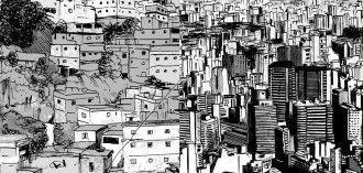Ciudad gris, ciudad de contraste cc Redemancipa