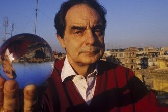 Italo Calvino, Roma, 1984. © Gianni Giansanti/Contrasto