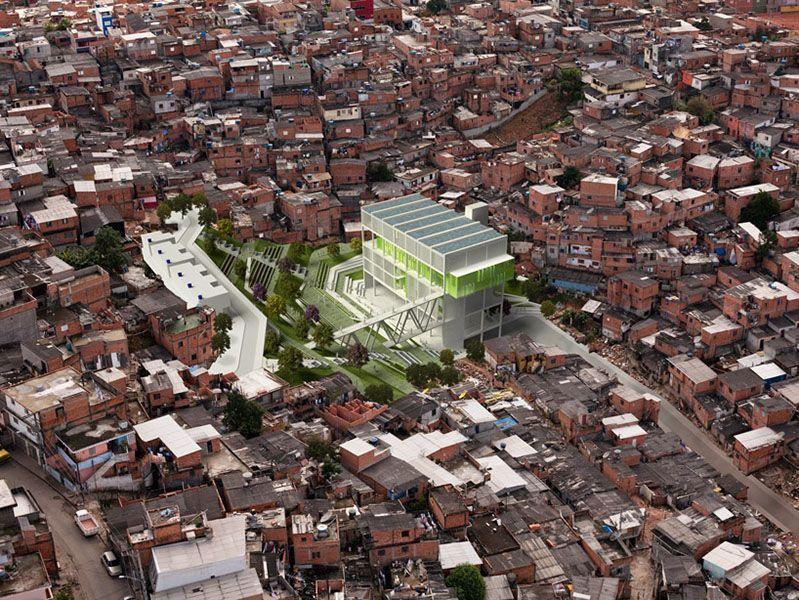 Grotão, Pabellón Multiusos, cc Urban Think Tank