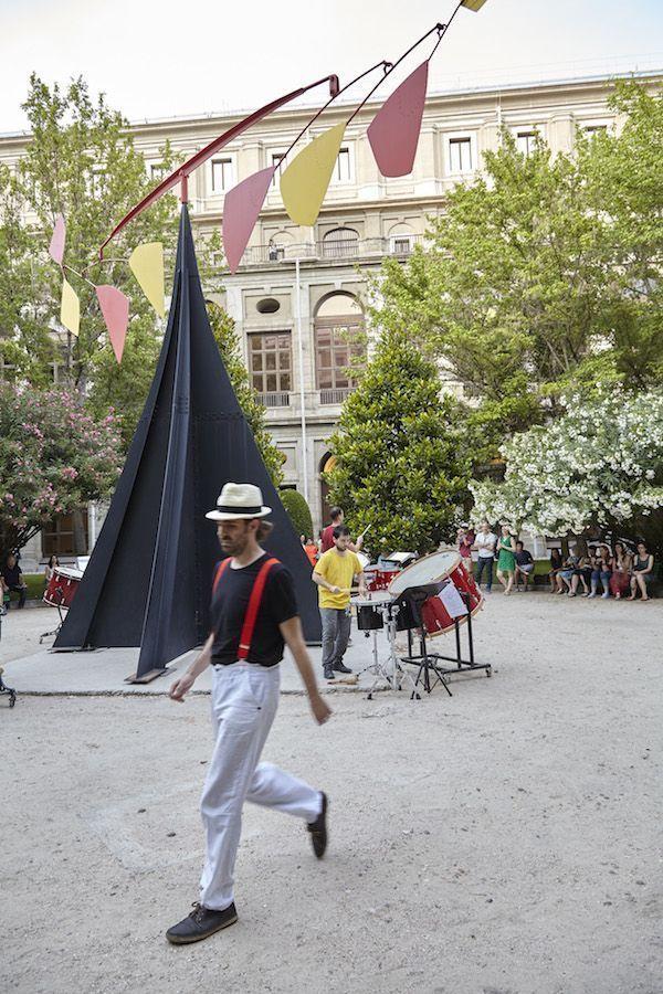 Intervención sonora en el Reina Sofía. Foto: Joaquín Cortés /Román Lores
