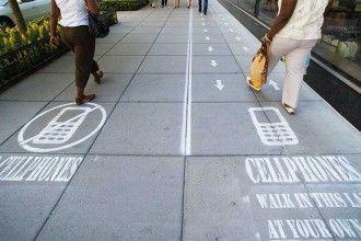 ¿Paseas con móvil o sin móvil?. Foto: Popup City CC