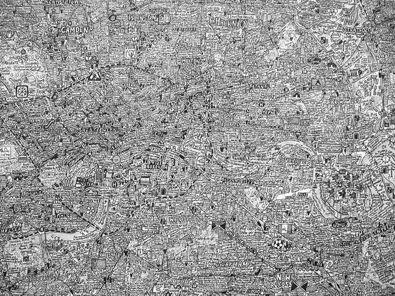 La ciudad como construcción de la memoria y de la toponimia. Foto: Stephen Walter CC