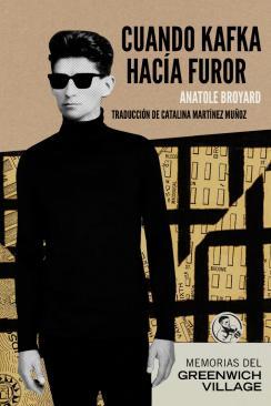 """Cubierta de """"Cuando Kafka hacia furor"""" (La uña rota, 2015)"""