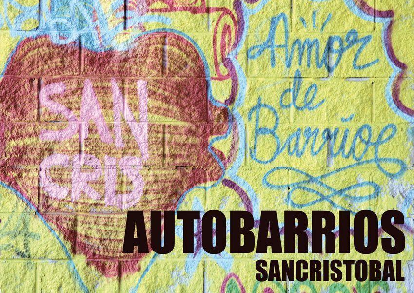 Proyecto Autobarrios San Cristobal. Foto: Basurama.org