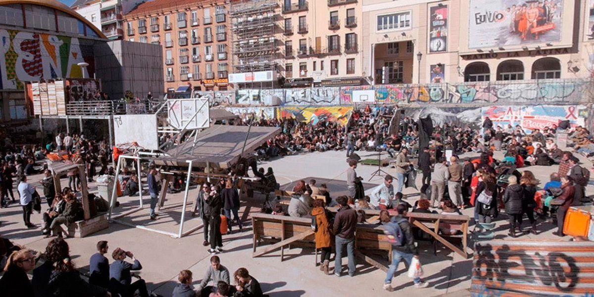 El Campo de cebada. Foto: Huffington Post.
