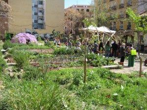 Esta es una plaza. Imagen extraída del blog Red Huertos Urbanos.