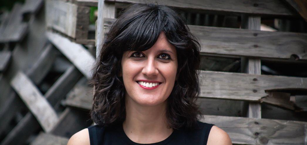 Mireya Hernández, autora de 'Meteoro', fotografiada por Ruth Zabalza.