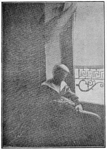 'Force vitale attirée par l'état d'âme attendrie d'un enfant', Baraduc, 1896.