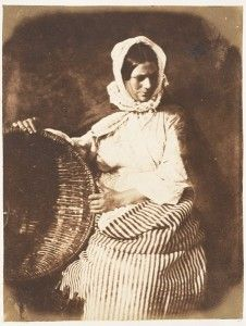 'Newhaven fishwife', David Octavius Hill, h. 1840