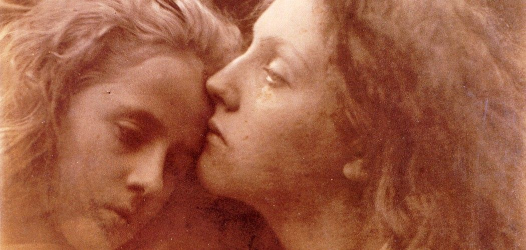 'The Kiss of Peace'. Julia Margaret Cameron. 1869