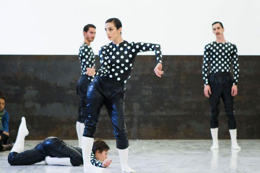 Estreno de 'Equal elevations' de La Veronal para el Reina Sofía. Foto: Cristina González y Naiara Ruperto