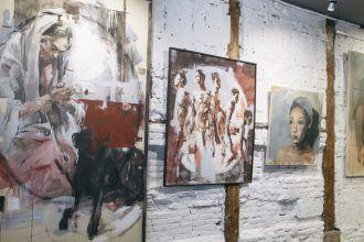 Exposición inaugural del año 2015 en Espositivo. Foto: Espositivo.