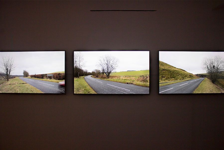 Exposición de Andy Goldsworthy que puede visitarse hasta el 21 de mayo. Foto: Slowtrack