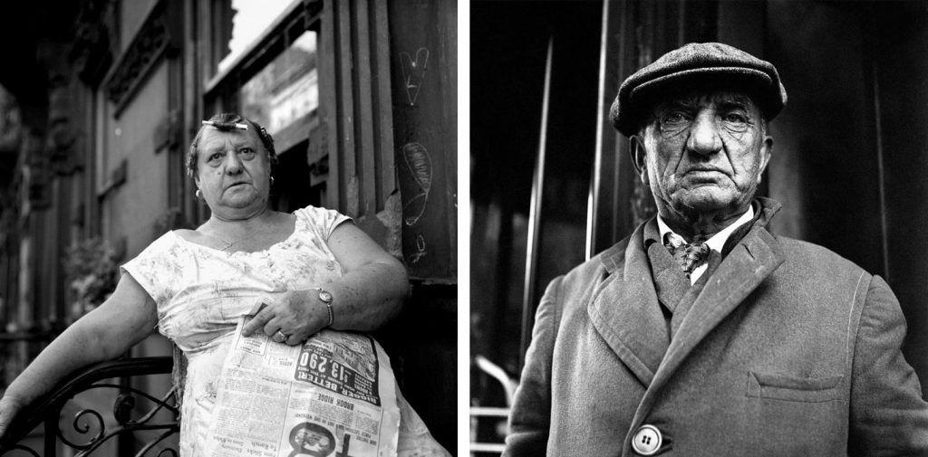 Izquierda: 29 septiembre, 1959, Nueva York. Derecha: Mayo, 1963, Nueva York.