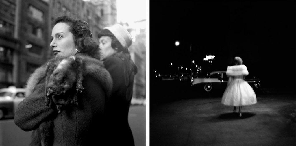 Izquierda: 2 diciembre, 1954, Nueva York. Derecha: 9 enero 1957, Florida.