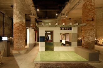 Anupama Kundoo's installation at the Venice Biennale 2016. Photo: Javier Callejas