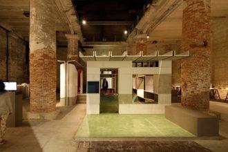 La instalación de Anupama Kundoo en la Bienal de Arquitectura de Venecia 2016. Foto: Javier Callejas