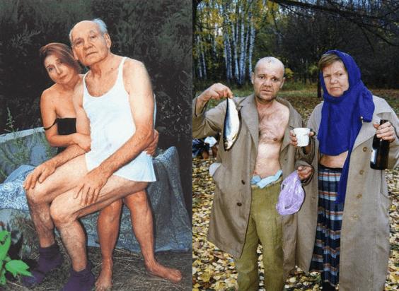 Boris Mikhailov. Sin título. De la serie Case History