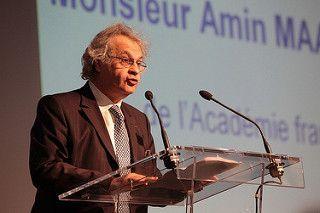 Amin Maalouf. Fuente: France Diplomatie, fotografía tomada de Flickr.