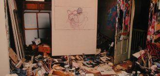 Estudio de Francis Bacon. Fotografía de Perry Ogden.