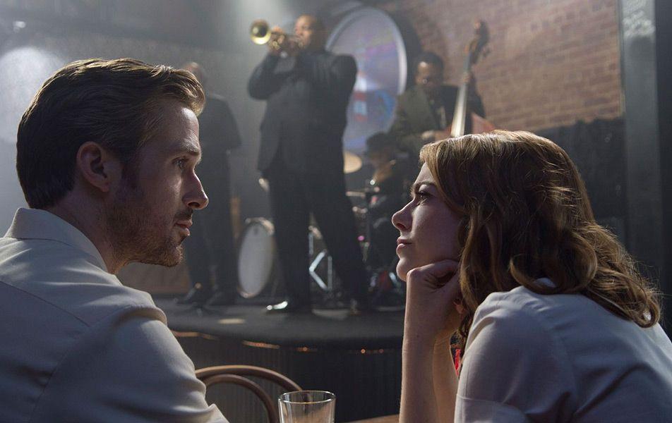 Ryan Gosling y Emma Stone en 'La, La, Land' (Damien Chazelle, 2016).