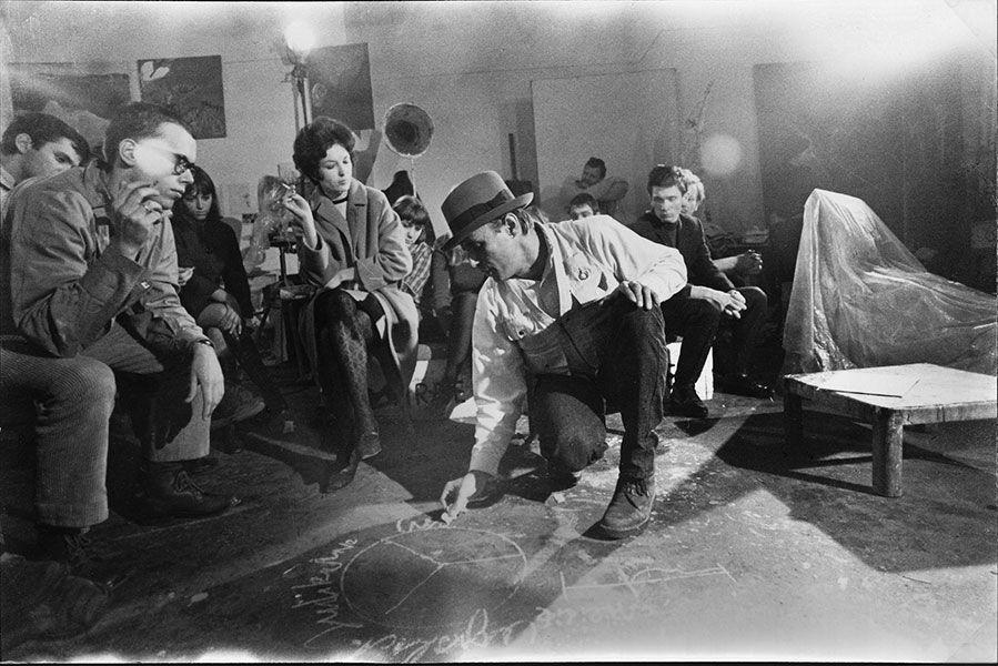 Uno de los momentos del documental 'Beuys' de Andrés Veiel.