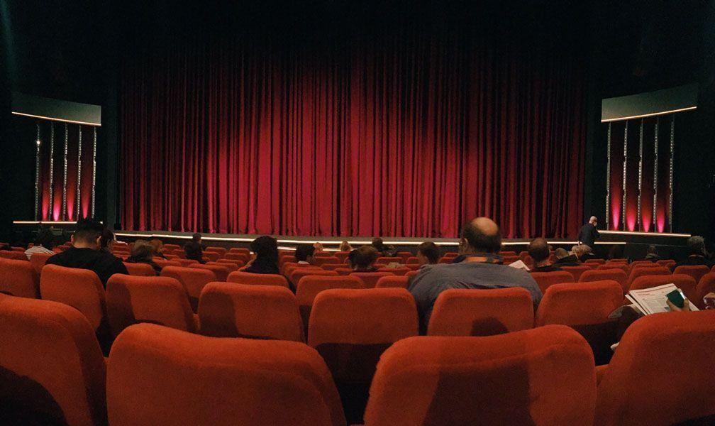 El Berlinale Palast antes de una proyección. Fotografía de Pilar Torres