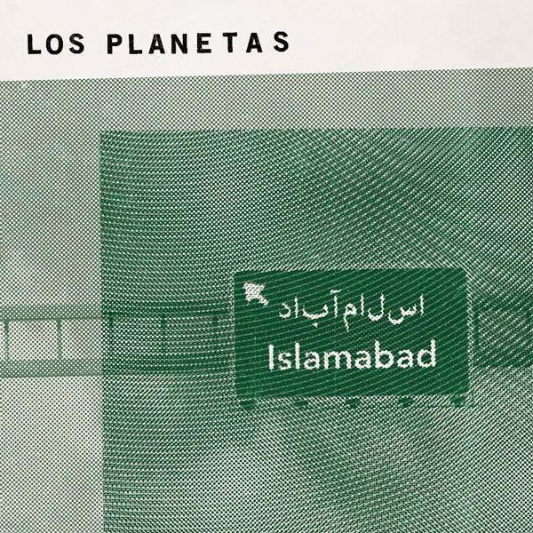 Portada de su último single publicado, Islamabad, que forma parte del álbum que saldrá a la venta el próximo 24 de marzo, bajo el sello El Volcán Música.