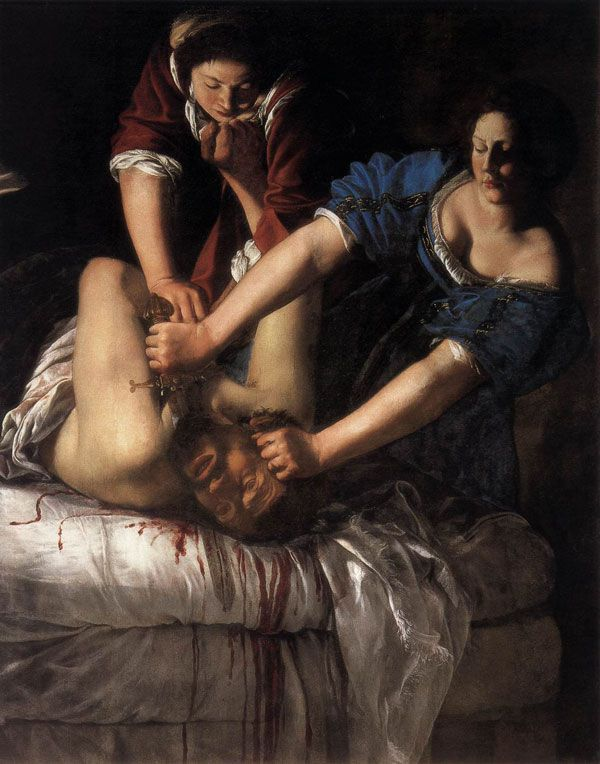 Artemisia Gentileschi (1612-13), Judit (Museo de Capodimonte, Nápoles)