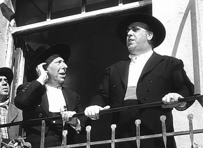 El alcalde de VIllar del Río en la película Bienvenido, Míster Marshall (Berlanga, 1953)