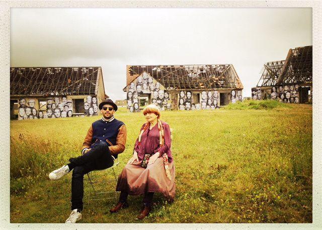 Fotograma de 'Visages villages', de Agnès Varda y JR
