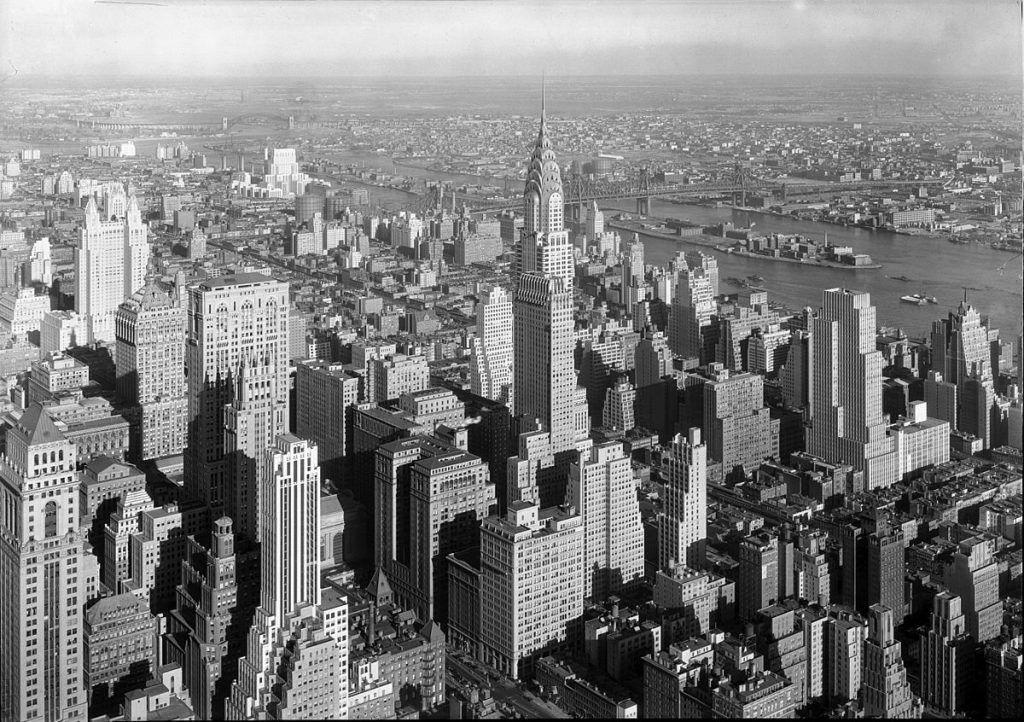 Vista de Nueva York, 1932. Samuel Gottscho