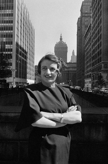 Ayn Rand en Nueva York, 1957. Fotógrafa: Allyn Baum
