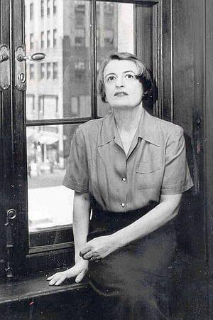 Ayn Rand en Nueva York. Fotógrafa: Phyllis Cerf